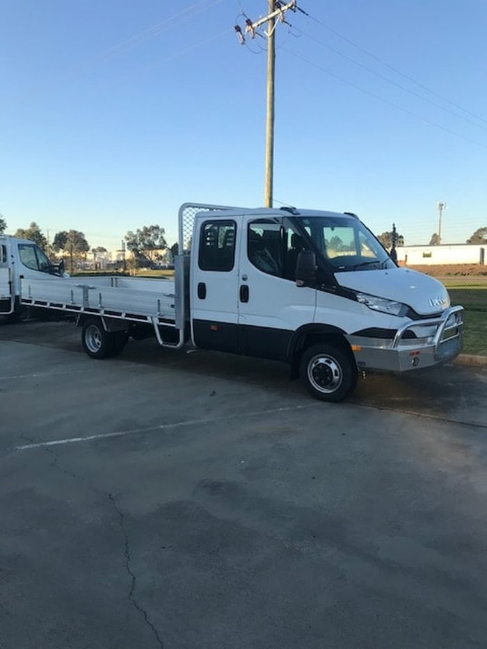 2019 IVECO 50C17 DUAL CAB IN STOCK - MUST SELL! null null White