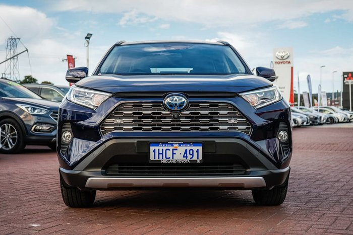 2019 Toyota RAV4 Cruiser AXAH54R 4X4 On Demand Blue