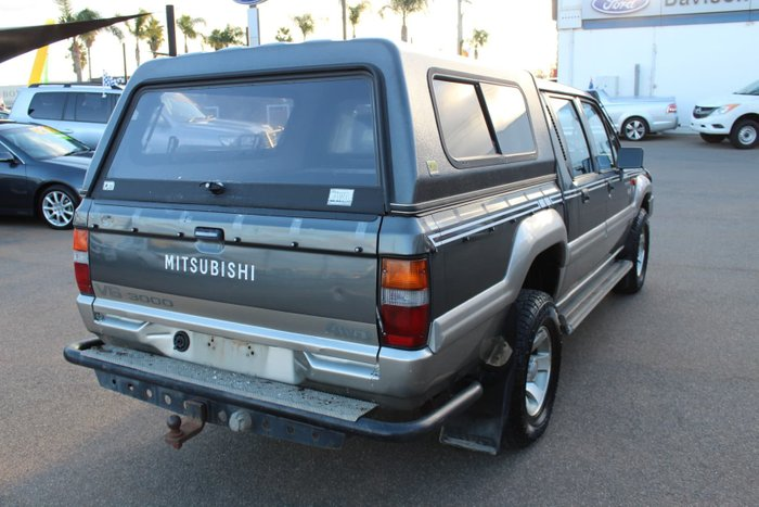 1996 Mitsubishi Triton Luxury MJ 4X4 Grey