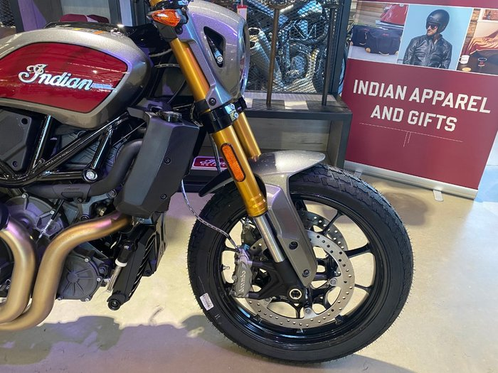 2019 Indian FTR 1200 S RED STEEL GRAY Red