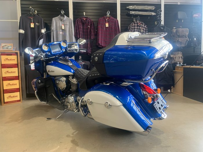 2020 Indian 2020 Indian 1800CC ROADMASTER RADAR BLUE/PRL WHITE CRUISER