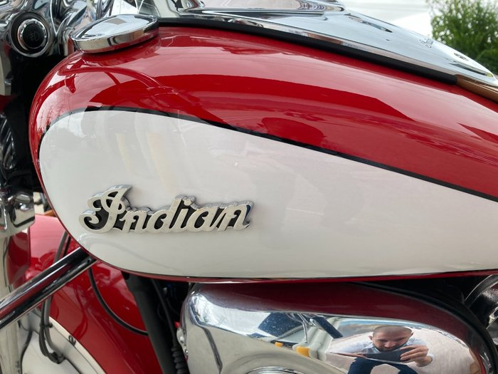 2020 Indian 2020 Indian 1800CC CHIEF VINTAGE Red
