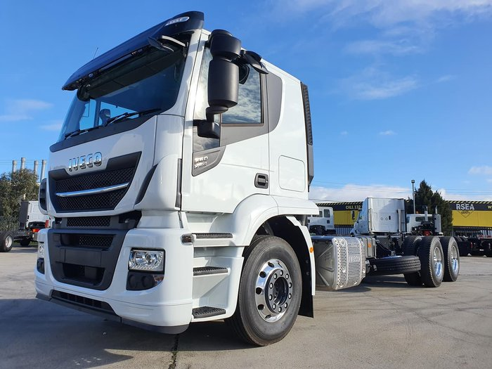 2020 IVECO XWAY AT360 6X4 - 5.8M WHEELBASE null null White