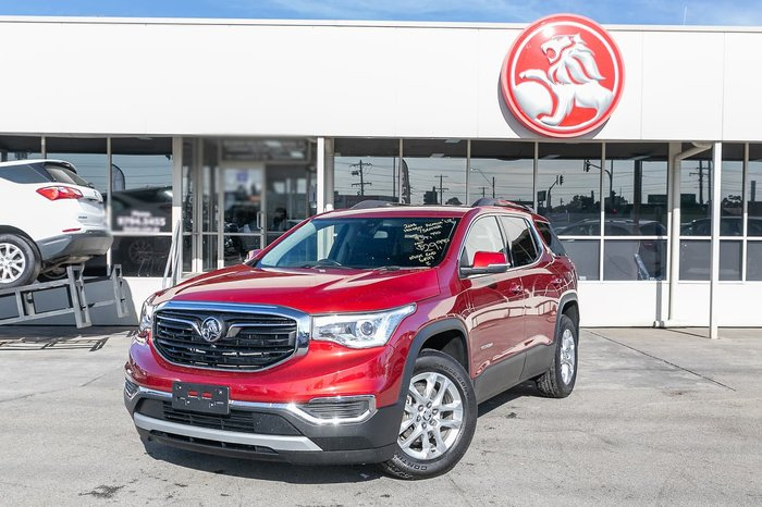 2018 Holden Acadia LT AC MY19 Red