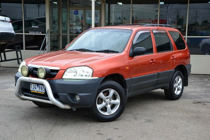 2004 Mazda Tribute Limited Sport MY04 4X4 On Demand Red