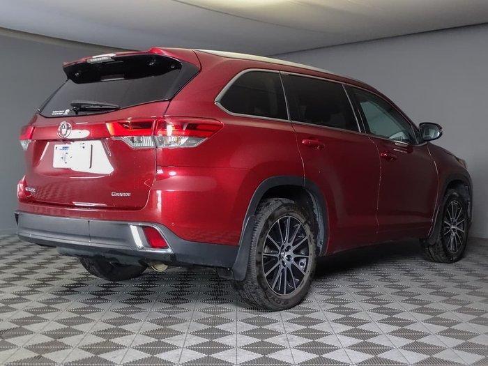 2018 Toyota Kluger Grande GSU50R Red