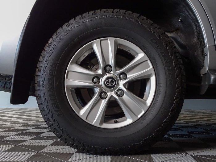 2018 Toyota Landcruiser GXL VDJ200R 4X4 Dual Range Silver