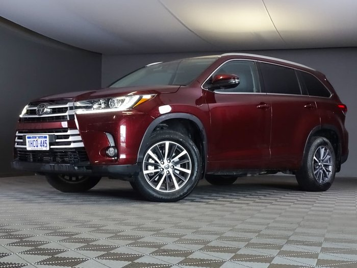 2018 Toyota Kluger GXL GSU50R Red