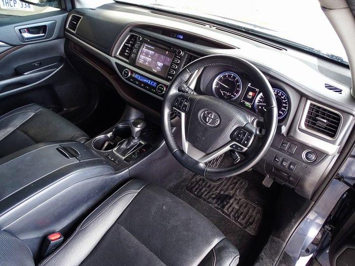 2017 Toyota Kluger Grande GSU55R Four Wheel Drive Blue