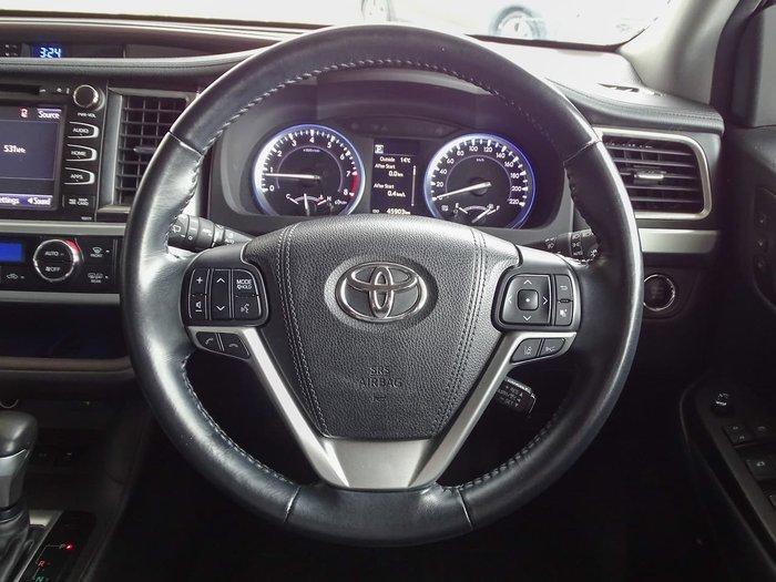2018 Toyota Kluger Grande GSU50R Silver