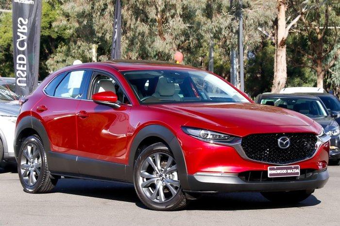 2019 Mazda CX-30 G25 Astina DM Series Red