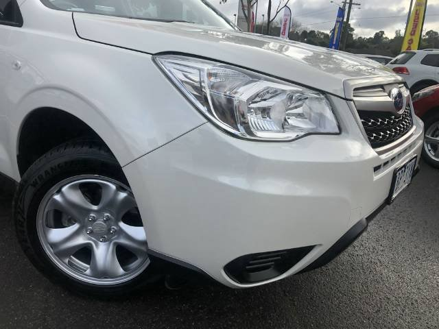 2014 Subaru Forester 2.5i-S S4 MY14 Four Wheel Drive WHITE