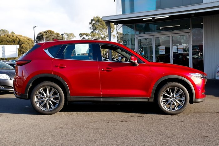 2019 Mazda CX-5 Akera KF Series 4X4 On Demand Red