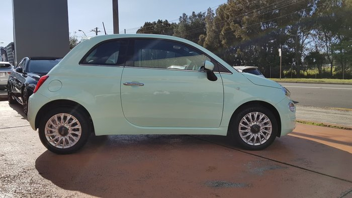 2019 Fiat 500 Lounge Series 7 Green