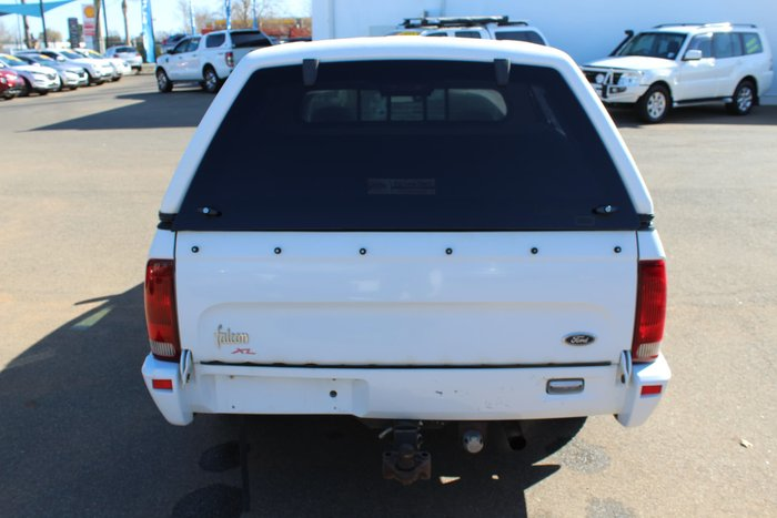 2000 Ford Falcon Ute XL AU II White
