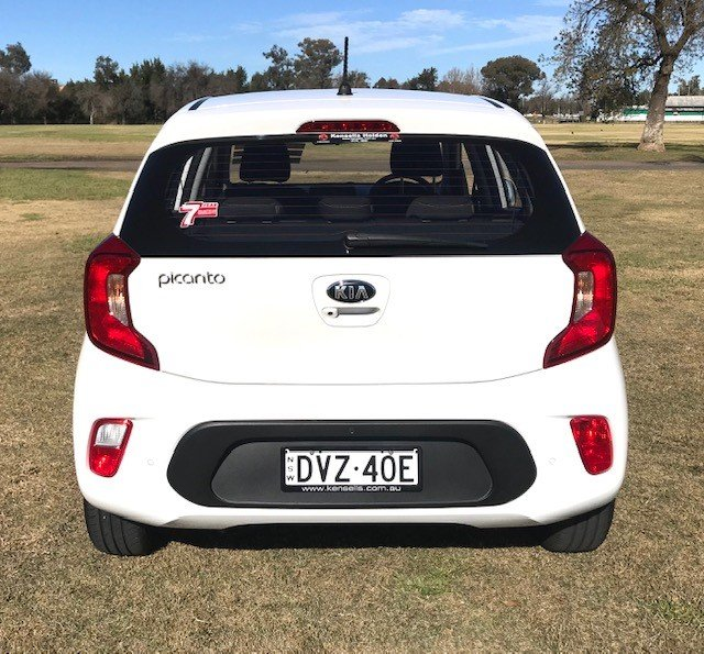 2018 KIA PICANTO S (AEB) JA MY18 White
