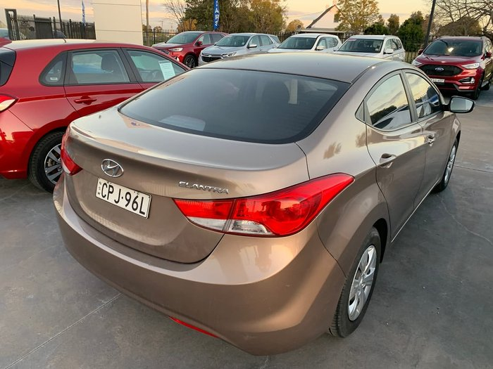 2013 Hyundai Elantra Active MD2 Bronze
