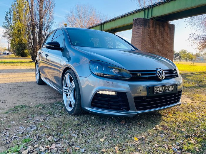 2012 Volkswagen Golf R VI MY12.5 Four Wheel Drive Grey