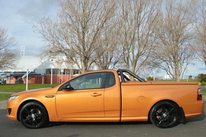 2014 Ford Falcon Ute XR6 FG X ORANGE