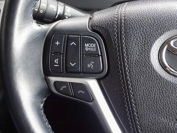 2018 Toyota Kluger Grande GSU55R Four Wheel Drive Grey