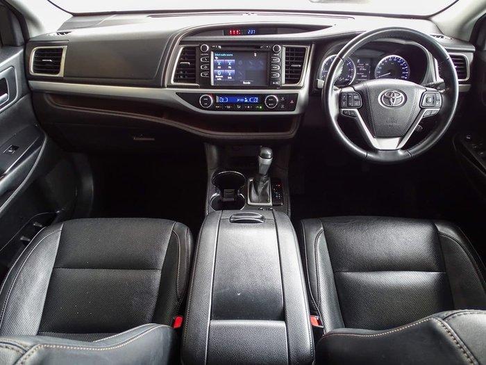 2018 Toyota Kluger GXL GSU50R Silver