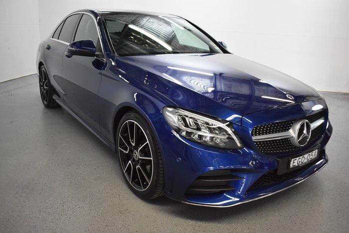 2019 Mercedes-Benz C-Class C200 W205 Blue