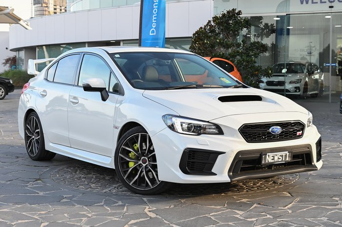 2020 Subaru WRX STI Premium V1 MY20 Four Wheel Drive White