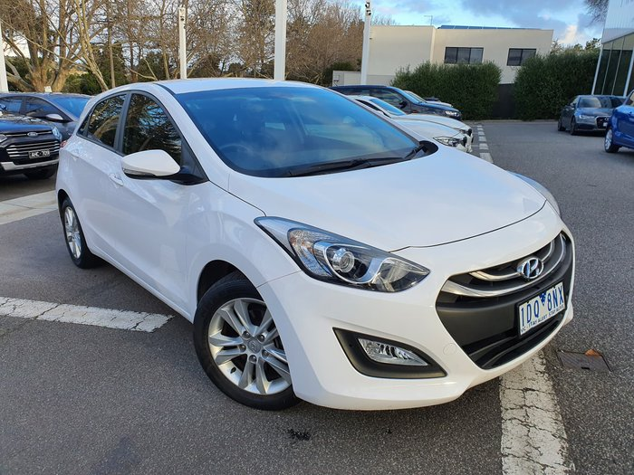 2014 Hyundai i30 SE GD2 MY14 White