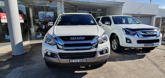 2020 Isuzu MU-X LS-T MY19 4X4 Dual Range White