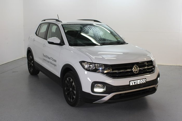 2020 Volkswagen T-Cross 85TSI Life C1 MY20 White