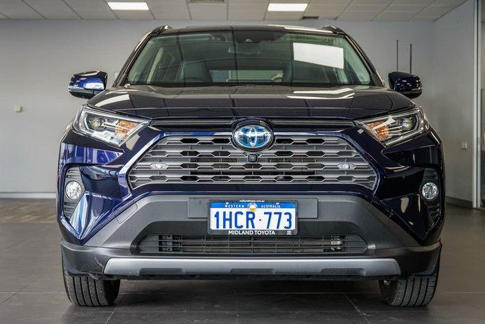 2019 Toyota RAV4 Cruiser AXAH54R 4X4 On Demand Blue