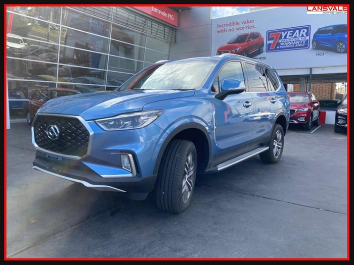 2020 LDV D90 Executive SV9A MY19 BLUE