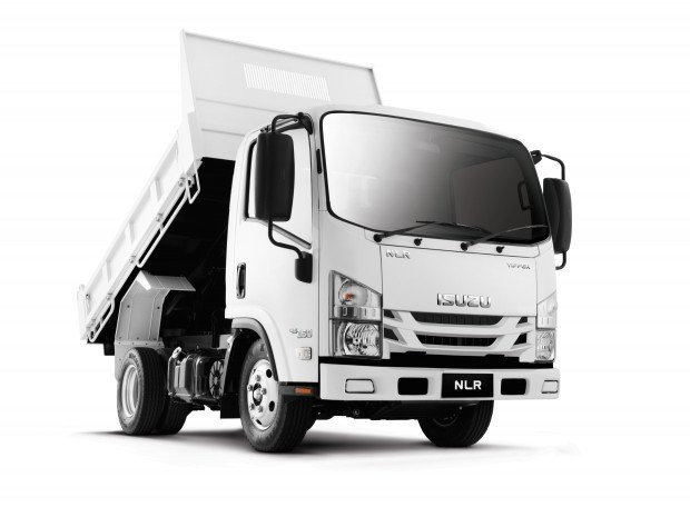 2020 Isuzu NLR 45-150 Car License Tipper White