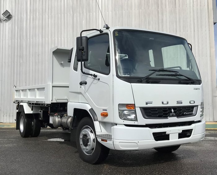 2019 FUSO FIGHTER 1124 FACTORY TIPPER White