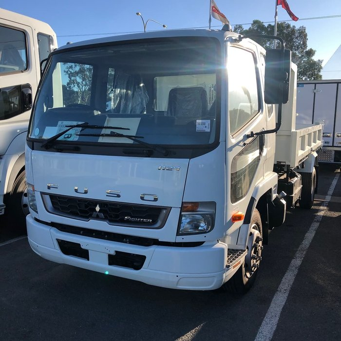 2019 FUSO FIGHTER 1124 FACTORY TIPPER null null White
