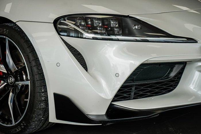 2019 Toyota Supra GR GTS A90 White