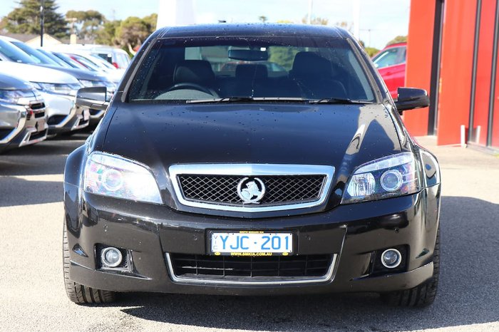 2011 Holden Caprice WM Series II Black