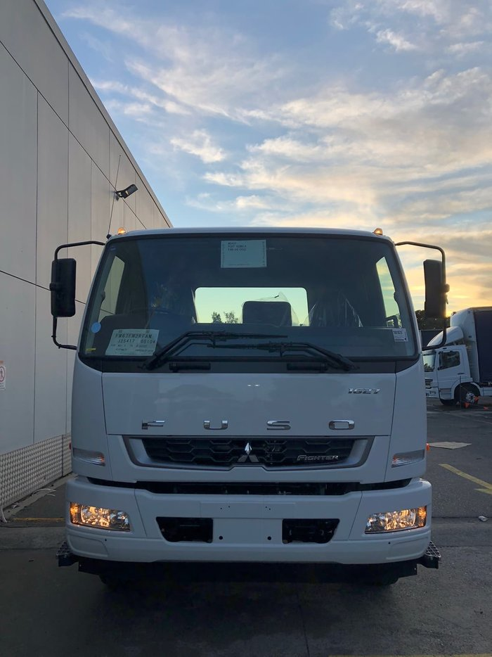 2020 FUSO FIGHTER 1627 CAB CHASSIS AIR BAG ALLISON AUTOMATIC null null White