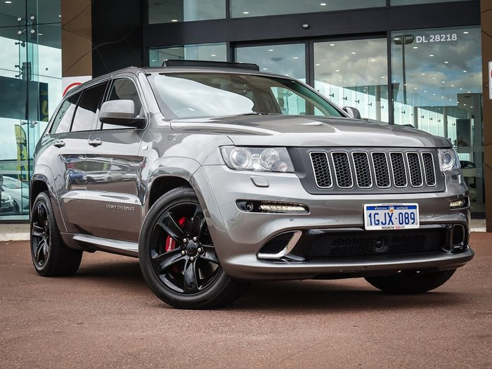 2013 Jeep Grand Cherokee SRT-8 WK MY13 4X4 On Demand Grey