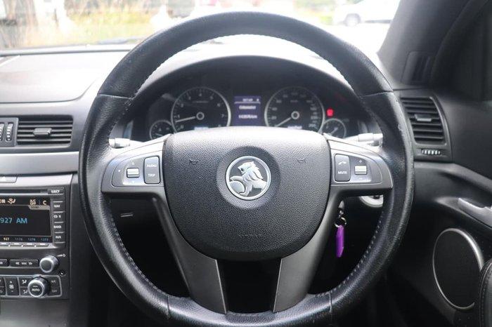 2009 Holden Calais V VE MY10 Black