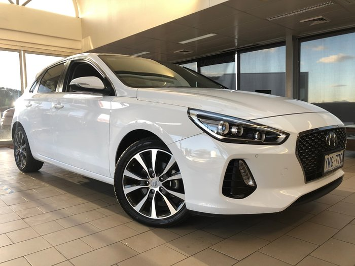 2017 Hyundai i30 Premium GD3 Series II MY17 White