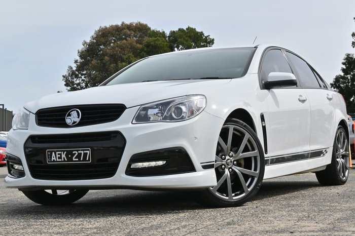 2015 Holden Commodore SV6 Lightning VF MY15 White