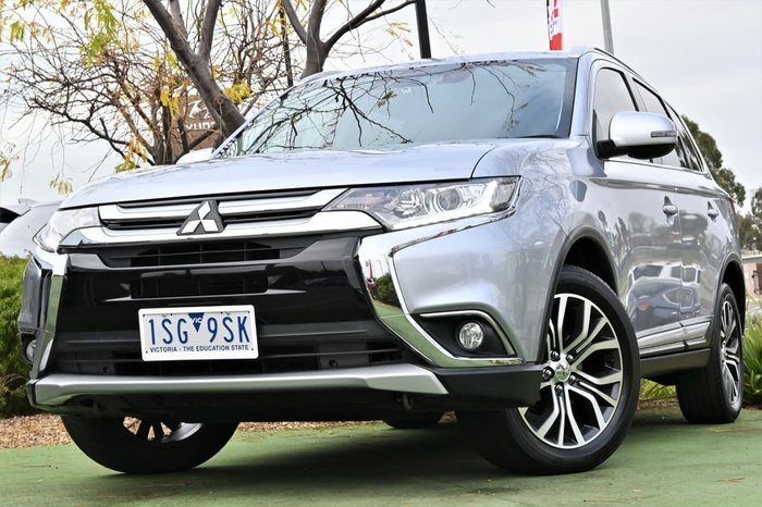 2017 Mitsubishi Outlander LS Safety Pack ZK MY17 Silver