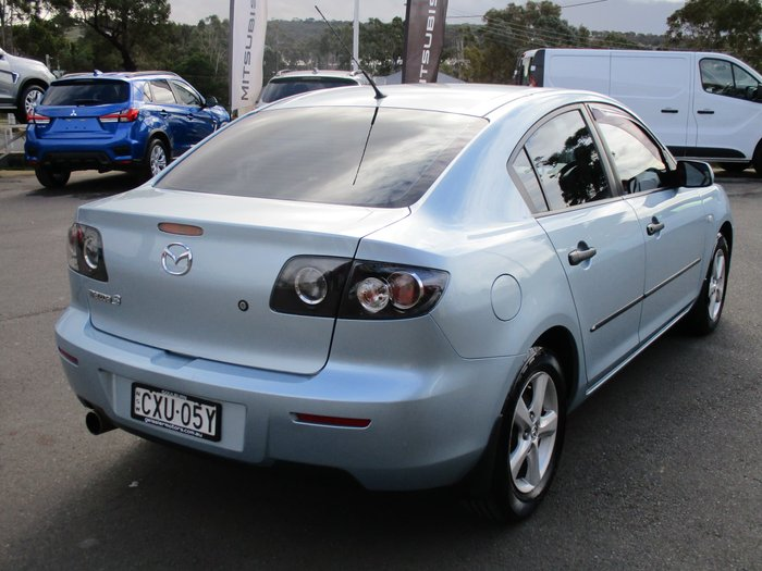 2008 Mazda 3 Neo Sport BK Series 2 MY08 Blue