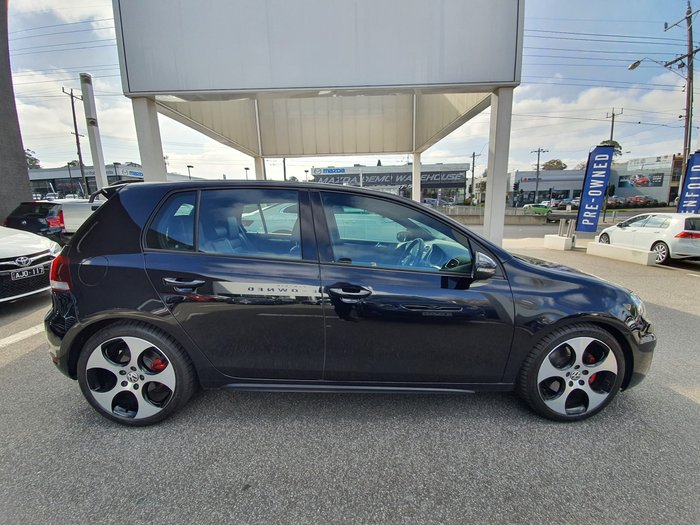 2012 Volkswagen Golf GTI VI MY12.5 Black