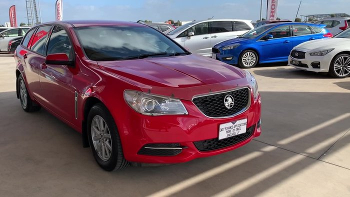 2017 Holden Commodore Evoke VF Series II MY17 Red