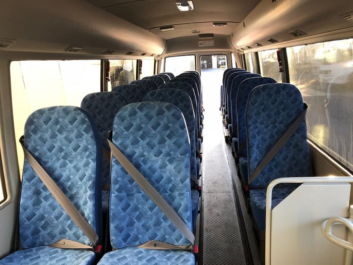 2019 FUSO ROSA DELUXE AUTO 25 SEAT BUS 2019 null null White