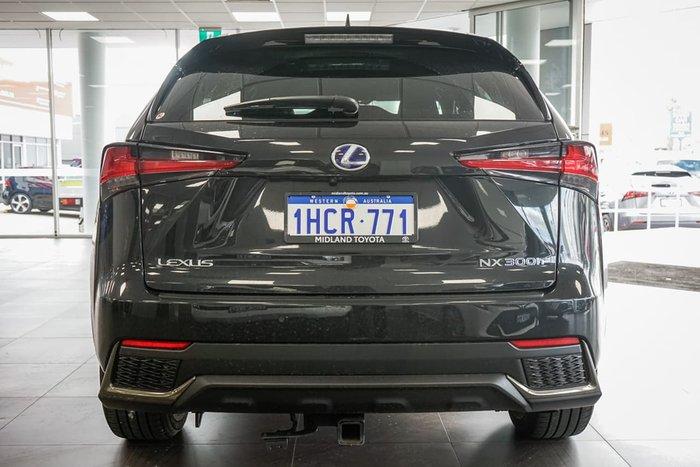 2018 Lexus NX NX300h F Sport AYZ15R 4X4 On Demand Black