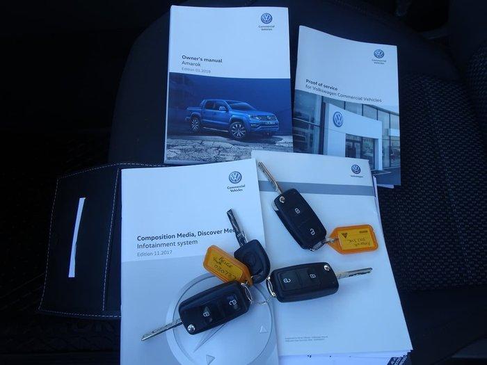2018 Volkswagen Amarok TDI550 Sportline 2H MY18 4X4 Constant Gold