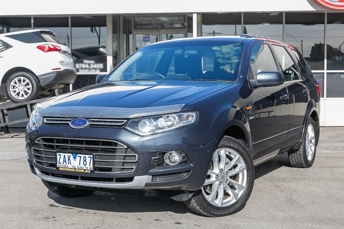 2012 Ford Territory TS SZ Blue